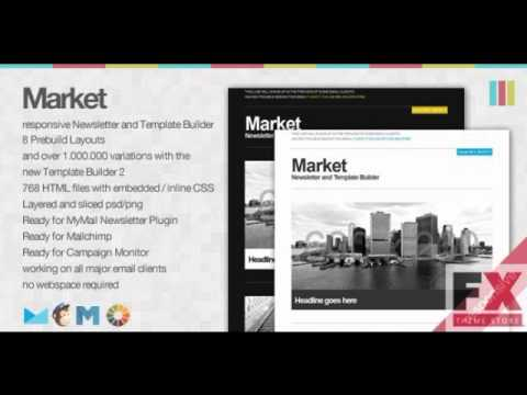 Preview market responsive newsletter with template builder youtube preview market responsive newsletter with template builder maxwellsz