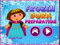 Dora The Explorer Online Games Dora The Explorer Makeover Frozen Preparation