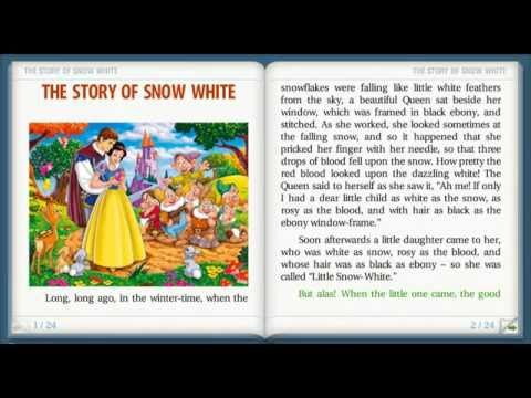 THE STORY OF SNOW WHITE - Reading short stories