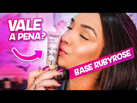 RESENHA DA BASE NATURAL LOOK RUBY ROSE | Odara Nogueira