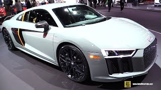 2017 Audi R8 V10 Plus Exclusive - Exterior and Interior Walkaround - 2016 LA Auto Show