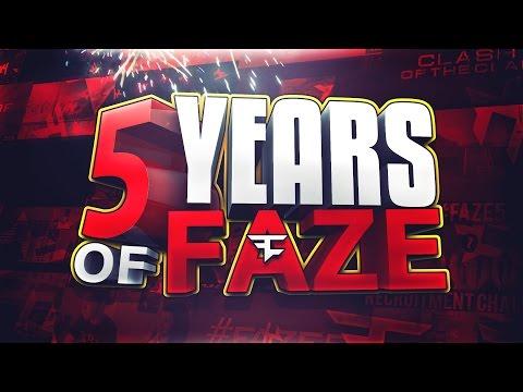 FaZe Clan 5 Year Anniversary