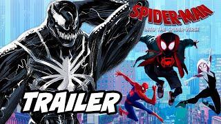 Spider-Man Into The Spider-Verse 2 Teaser Trailer and Alternate Ending Marvel Easter Eggs