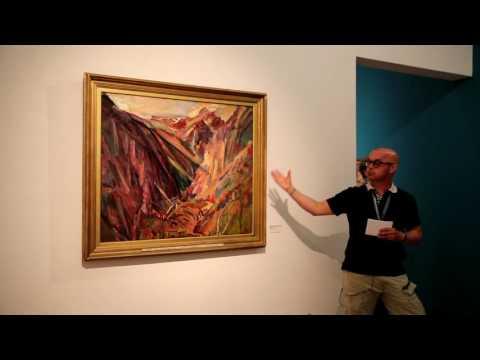 ALEXANDER JOHNSON, ARTISTS VIEW ON DAVID BOMBERG, TOWNER GALLERY 2016