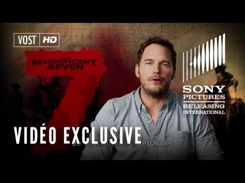 Les 7 Mercenaires (The Magnificent Seven) - Greeting Card Chris Pratt - VOST streaming vf