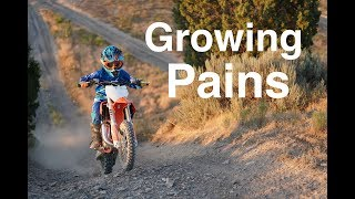 Growing Pains on New Bikes for Kids - KTM 65SX and KTM 50SX