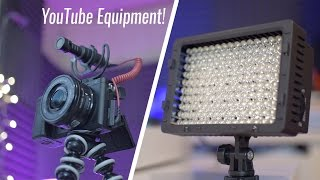 Best Budget Youtube Equipment Under $50!