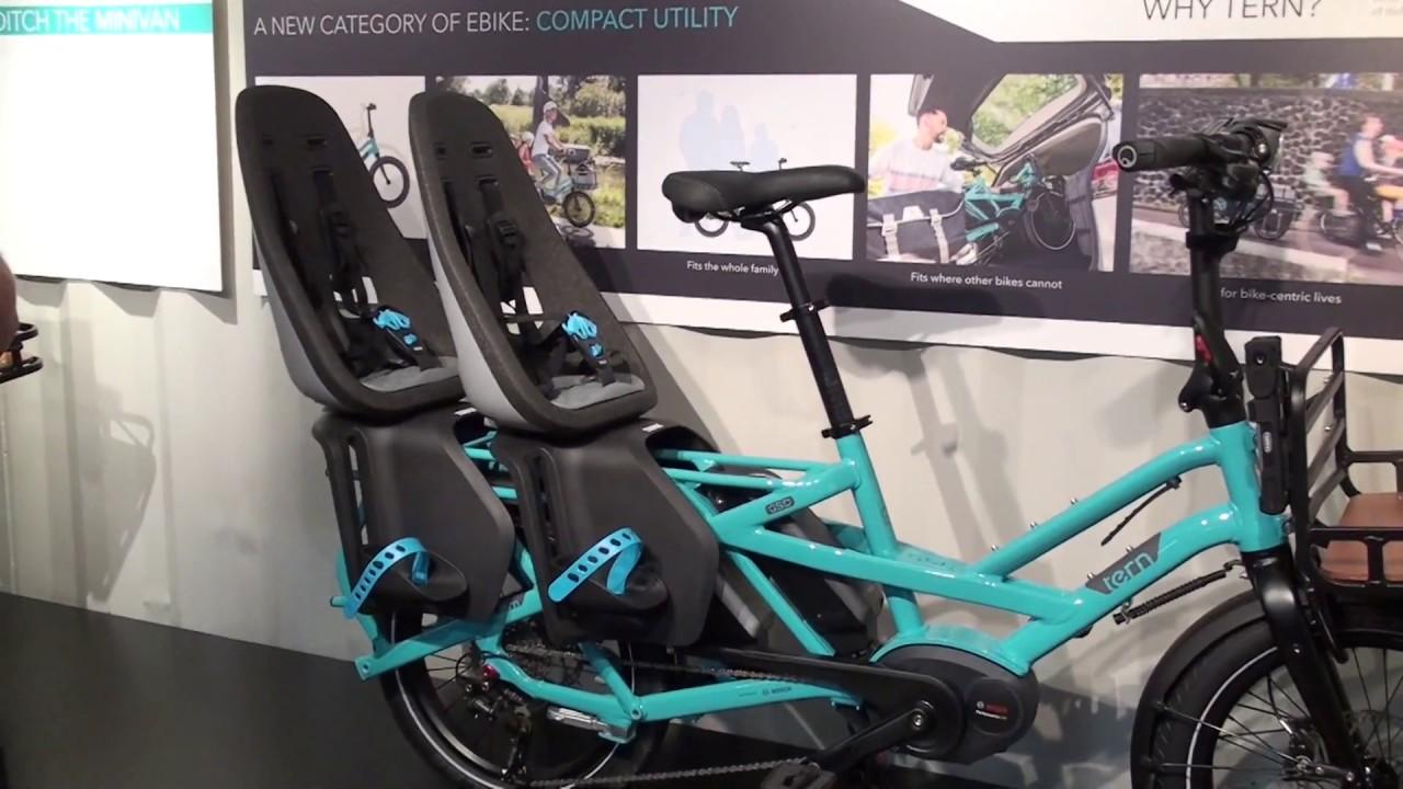 Tern Gsd Electric Cargo Bike W 2 Batteries Electric Bike