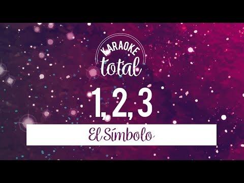 1, 2, 3 - El Símbolo - Karaoke sin Coros