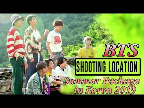BTS: Summer Package in Korea 2019/ Shooting (Filming) Location
