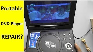 How To Repair Portable DVD Player