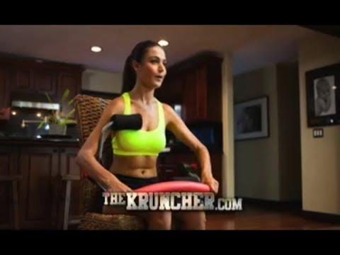 The Kruncher Commercial The Kruncher As Seen On TV Ab Workout Machine With The Sarge Lee Reherman