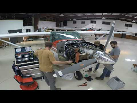 Cessna 206 Engine Top Overhaul