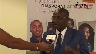 Faman Touré, President de la Chambre du Commerce de Côte d'Ivoire au sujet de la Diaspora ivoirienne