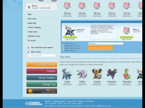 Pokemon Indigo:How to level up pokemon fast!!!