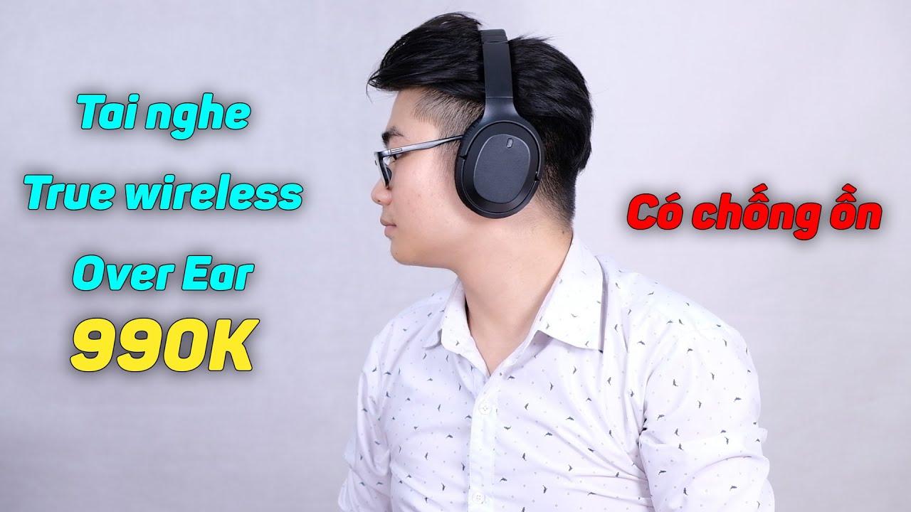 Tai nghe Over Ear thiết kế giống Sony, có chống ồn, giá siêu rẻ chỉ 990k