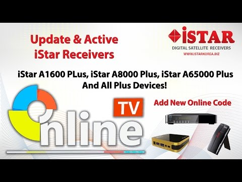 Update and Active Online TV For iStar PLUS Receivers - YouTube