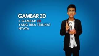 Download Video [TUTORIAL] MENGGAMBAR 3D TERNYATA MUDAH - DIJAMIN LANGSUNG BISA MP3 3GP MP4