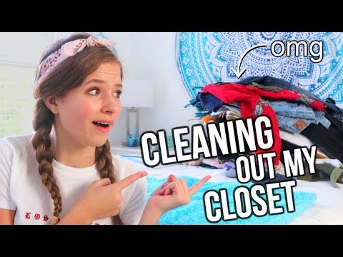 Cleaning Out My Closet!