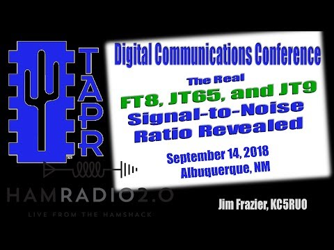 Episode 152: TAPR DCC 2018 - The Real FT8, JT65, and JT9 Signal-to