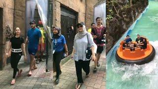 Datuk Siti Nurhaliza & Izara Aishah bercuti dengan family ke Sunway Lagoon