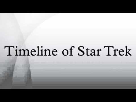 Timeline of Star Trek