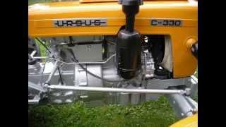 Odbudowa ciągnika Ursus C 330