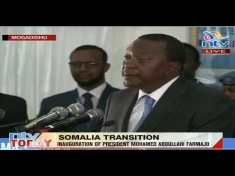 President Uhuru Kenyatta's speech at the Inauguration of Somalia President Abdullahi Mohamed