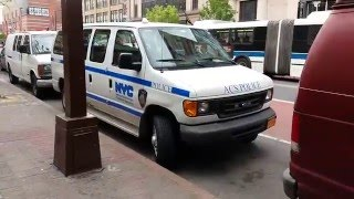 """NYC Administration For Children's Services """"ACS"""" Police Van Parked In West Harlem, New York"""
