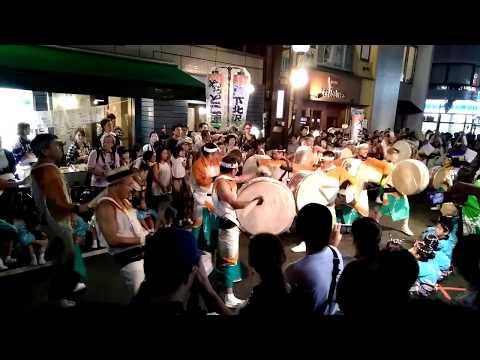「第52回 下北沢一番街 阿波おどり」2日目 やっとこ連 組み踊り【3】