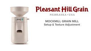 MockMill adjustment demonstration