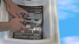 видео Ремонт стиральной машины «Asko W510D/W512D»