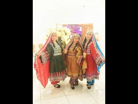 Afghan Dance by Ensemble Topaz to Pashto Song Bibi Shireeni