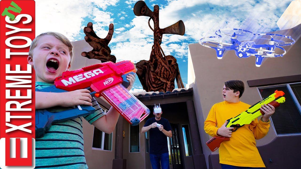 Download Siren Head Halloween Horror! Sneak Attack Squad has a Sirenhead Monster Problem