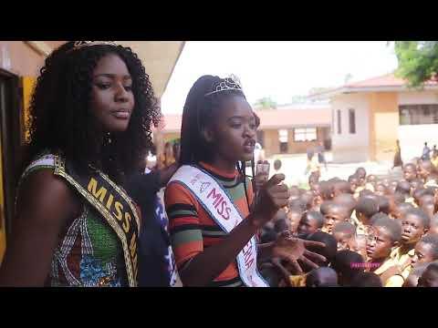 Miss Liberia 2016  2017 Wokie Dolo Trip to Ghana