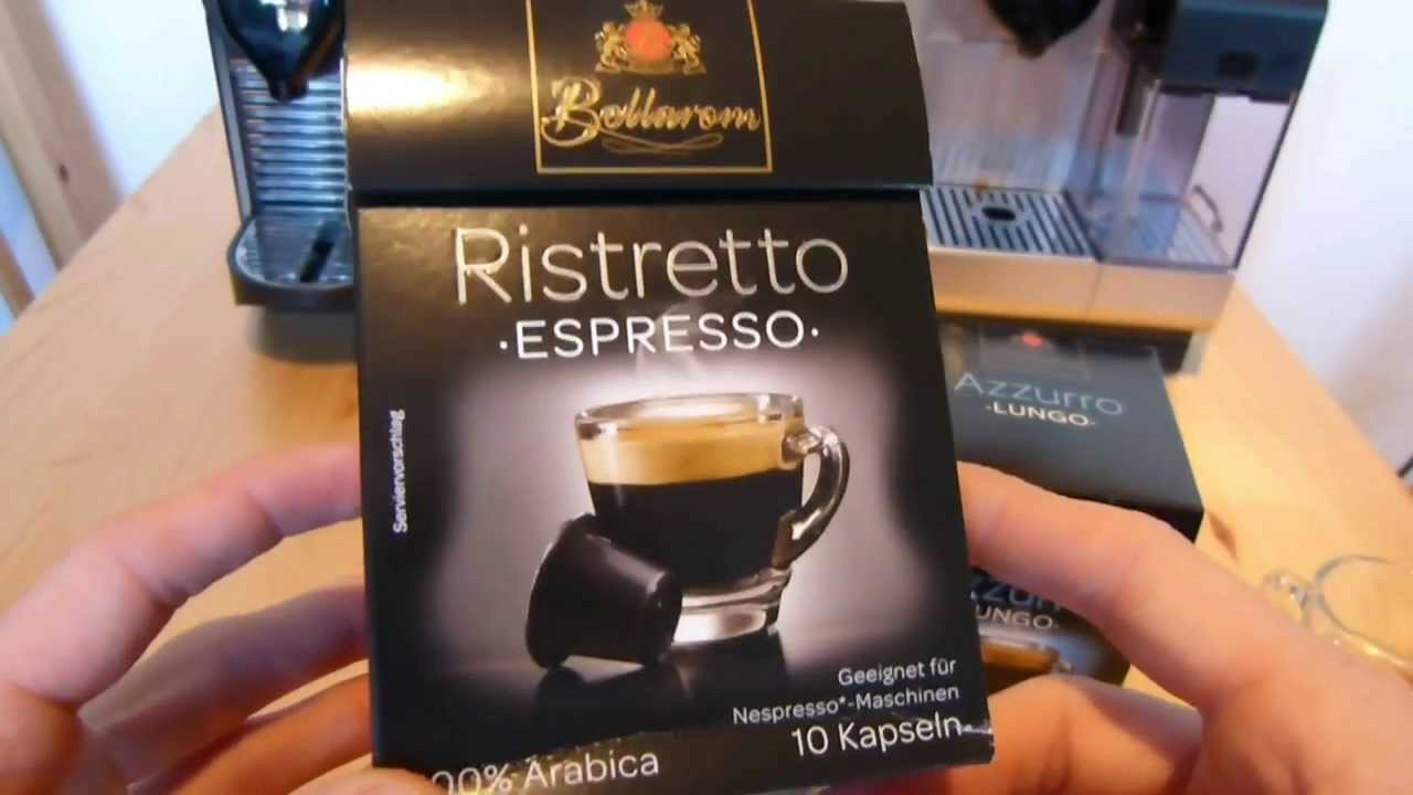new release super popular amazing selection Lidl Bellarom Kaffeekapseln im Test - kompatibel mit Nespresso-Maschinen