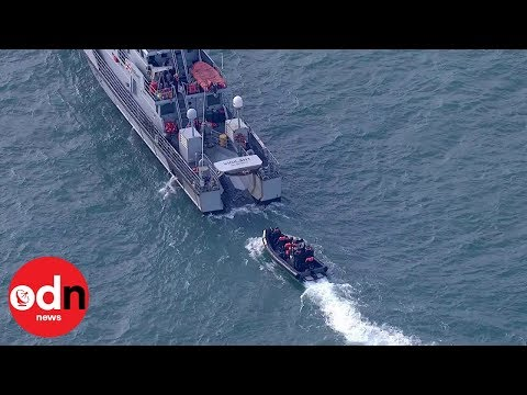 More than a dozen migrants rescued from Dover waters