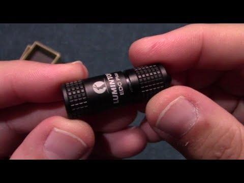 Lumintop EDC Pico Keychain Flashlight Review!