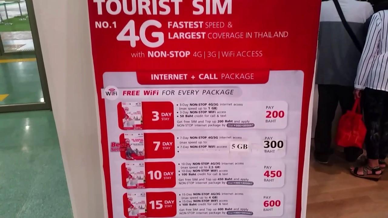 Carte Wifi Thailande.Phuket Thailand Truemove H Tourist Sim Card Prices 4g Internet Data