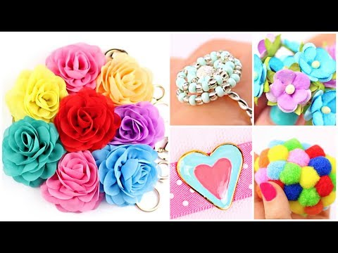 23 Easy Crafts Ideas at Home! DIY Easy Rings, Hot Glue Hacks (Compilation)