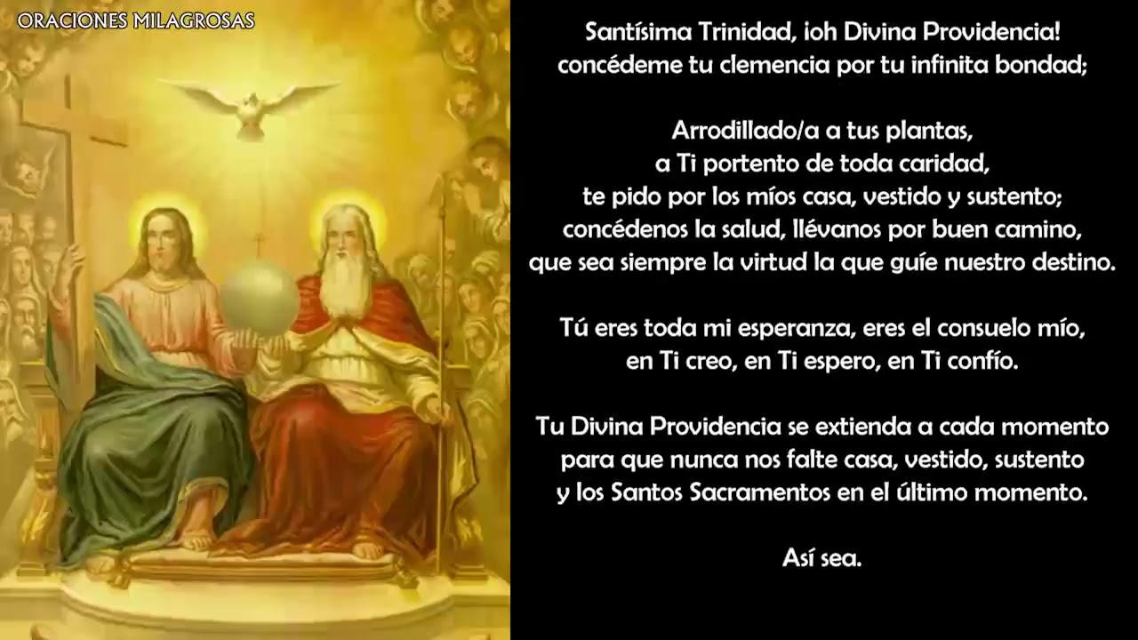 Oración A La Divina Providencia Para Vencer Adversidades De