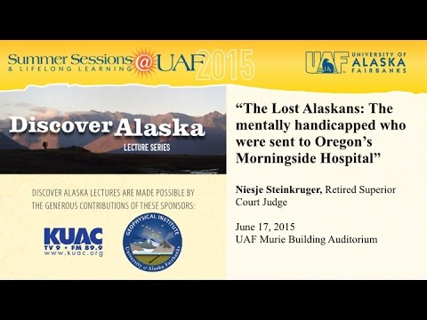 UAF - 2015 - The Lost Alaskans