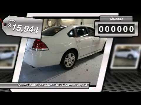 2012 Chevrolet Impala At South Pointe Chevrolet In Tulsa C1250823
