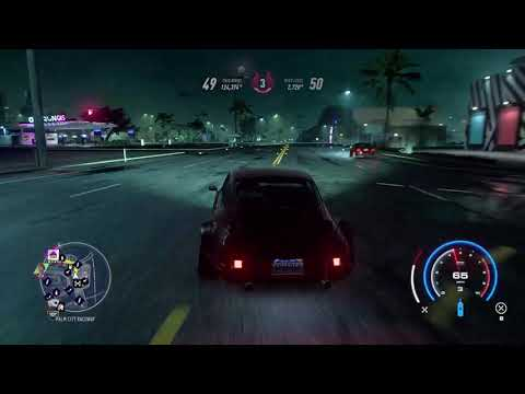 Need For Speed heat : GAME FROZE MIDWAY |