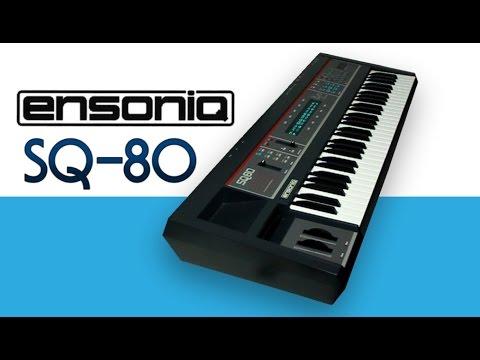 ENSONIQ SQ-80 Synthesizer 1987 | HD DEMO | NEW PATCHES