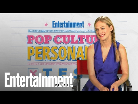 Marin Ireland Takes Our Pop Culture Personality Test  Entertainment Weekly