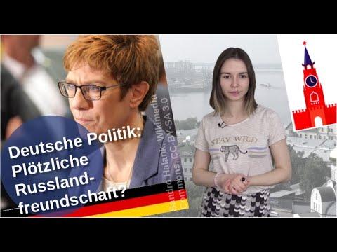 Deutsche Politik - plötzliche Russlandfreunde?