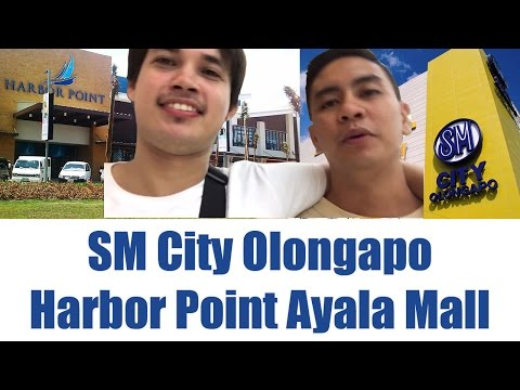 Going to SM Olongapo City and SBMA Harbor Point Ayala Mall (first VLOG)