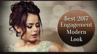 2017 Best Engagement Makeup Tutorial | Real Bride Engagement Makeup | Krushhh By Konica