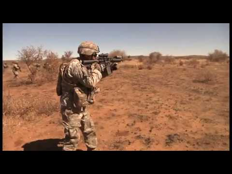 New Jersey Army National Guard in Southern Accord 2012
